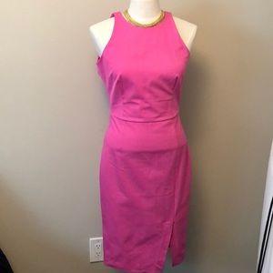 J Crew pink 4 tall dress - form fitting